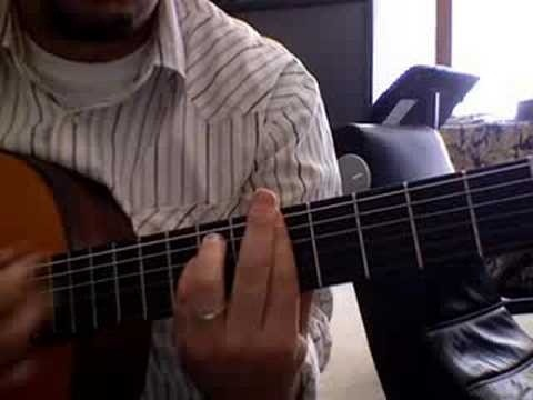 "Play ""Stairway to Heaven"" on acoustic guitar"