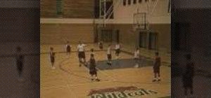 Practice zone defense team skills for basketball
