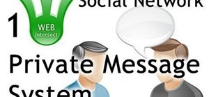 Add a private messaging system to your PHP/MySQL based website