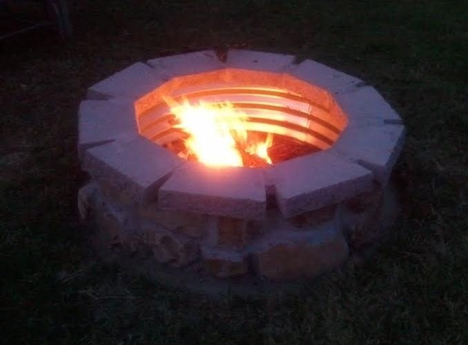 How to Build a Simple Outdoor Fire Pit for Less Than 100 Bucks
