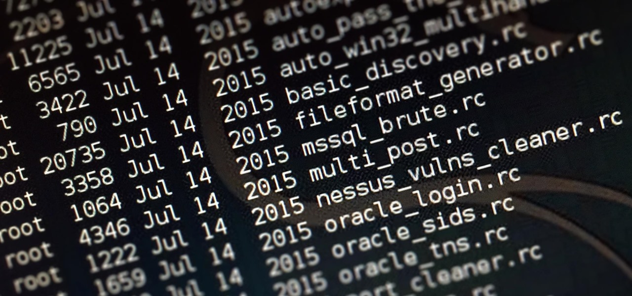 Metasploit for the Aspiring Hacker, Part 14 (Creating Resource Script Files)