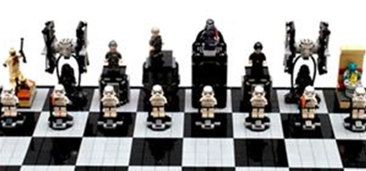 Star Wars A New Hope Lego Chess Set 171 Construction Toys