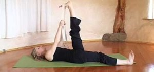 Do a yoga routine for lower back pain