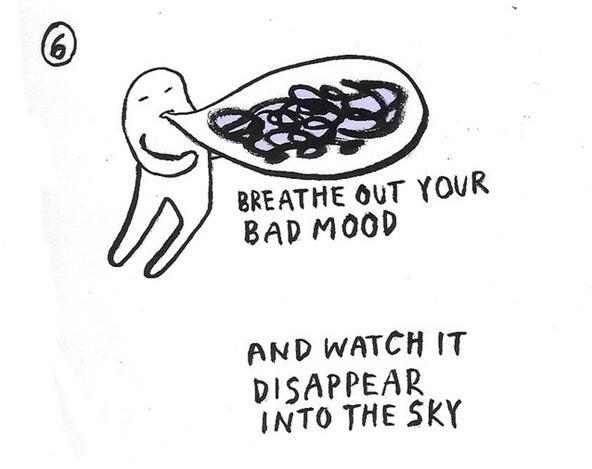 10 Ways to Get Rid of a Bad Mood (+ Meet Our New HowTo Artist, Yumi Sakugawa!)