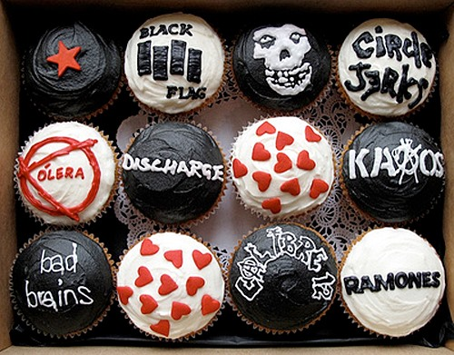Punk Rock Cupcakes