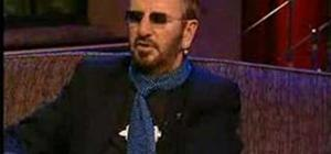 RINGO STAR talks about his drumming style
