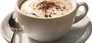 Make a Cappuccino with an Espresso Maker