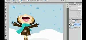 Use the Puppet Warp transform tool in Photoshop CS5