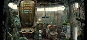 Complete level eight in the indie game Machinarium