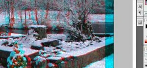 Make stereoscopic 3D pictures with Photoshop