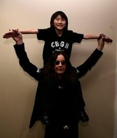 Japanese Guitar Prodigy Performs With Ozzy Osbourne