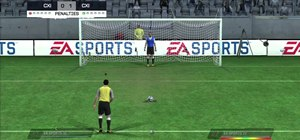 Take a penalty kick with basic moves in FIFA 11 for the Xbox 360