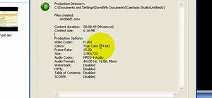 Get the best Camtasia settings for YouTube widescreen