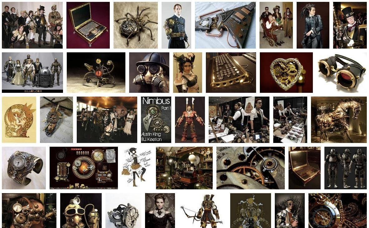 How to Find Inspiration for Your Steampunk Projects