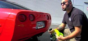 Wash and detail your car without ruining the paint job
