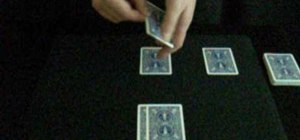 Perform the ultimate professional jazz aces card trick