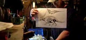 Build an epoxy dinosaur with the Dino Tech technique