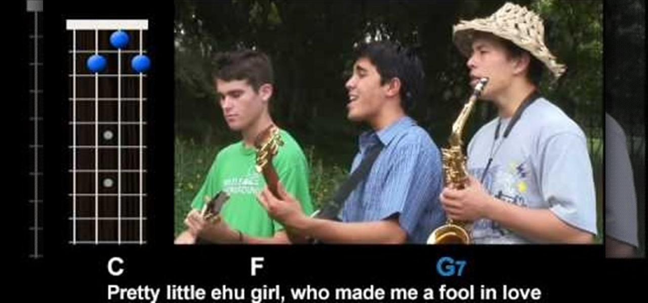 How To Play Ehu Girl By Kolohe Kai On Ukulele Ukulele Wonderhowto