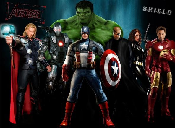 The Avengers (2012) Poster and Fan Art