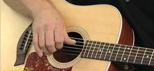Fingerpick the acoustic guitar for folk songs