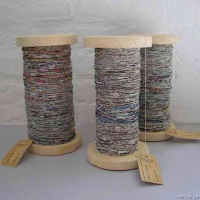 How to Make a DIY PVC Spindle that Turns Newspaper Into Yarn