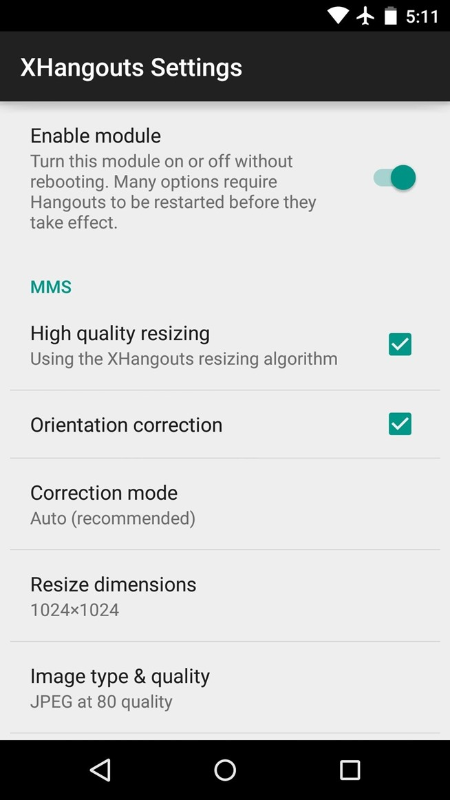 How to Theme Hangouts for Android with 23 Custom Colors