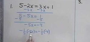 Solve single-variable algebraic equations