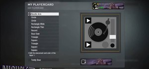 Make a DJ turntable as your Call of Duty: Black Ops player emblem