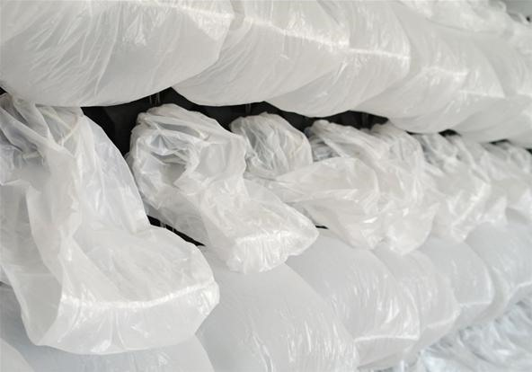 108 Garbage Bags Become 1 Giant Computer-Breathing Organism