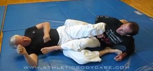 Do the ankle lock in jiu jitsu