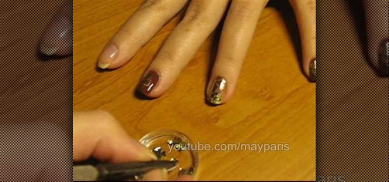 How to Use gold foil on your nails « Nails & Manicure :: WonderHowTo