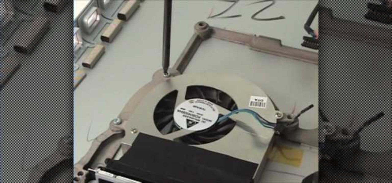 how to repair a macbook pro 17 fan heat sink removal. Black Bedroom Furniture Sets. Home Design Ideas