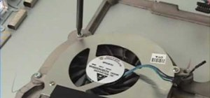 """Repair a MacBook Pro 17"""" - Fan & heat sink removal"""