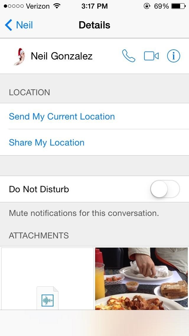iOS 8's Hidden Gallery Shows Every Pic, Video, & Attachment from Your Texting History