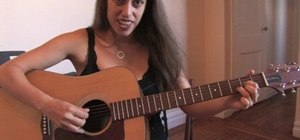 Play acoustic guitar the basics for beginners