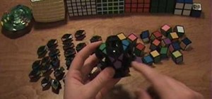 Disassemble and reassemble the Megaminx puzzle