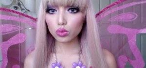 Fairy Barbie Princess Make-up ( Halloween special )