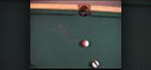 Use the 30 degree rule when shooting pool