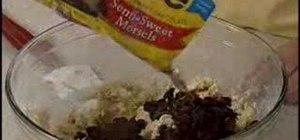 Bake Nestle Toll House Chocolate Chip Cookies