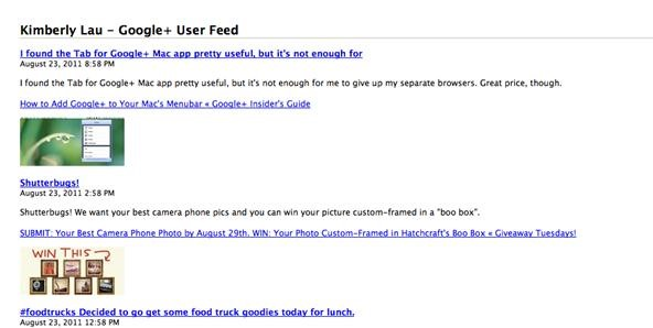 How to Subscribe to Google+ Users with Google Reader