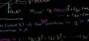 Calculate r-squared or coefficient of determination in statistics