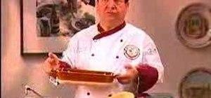 Prepare Olive Garden's chicken crostina