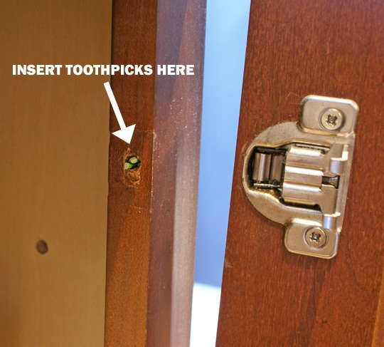 Shortcut: Fix a Stripped Screw with a Toothpick