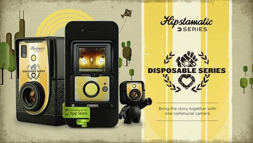 Hipstamatic Gets Social and Announces D-Series Disposable Camera App