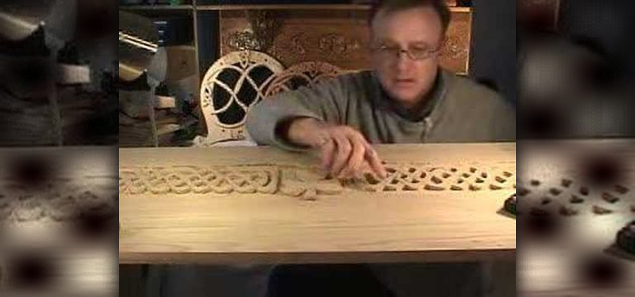 How to carve a celtic irish toy chest « furniture