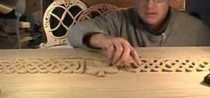 Carve a Celtic Irish toy chest
