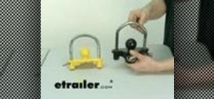 Use a Valley Universal trailer coupler lock
