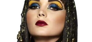 Get a Cleopatra inspired makeup look by Sephora