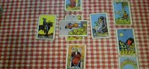 Read a ten card tarot lay out with Peter John