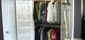 Organize and declutter your closet
